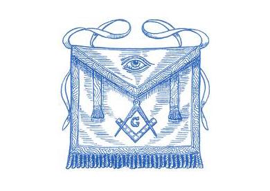 Ilustración de un mandíl