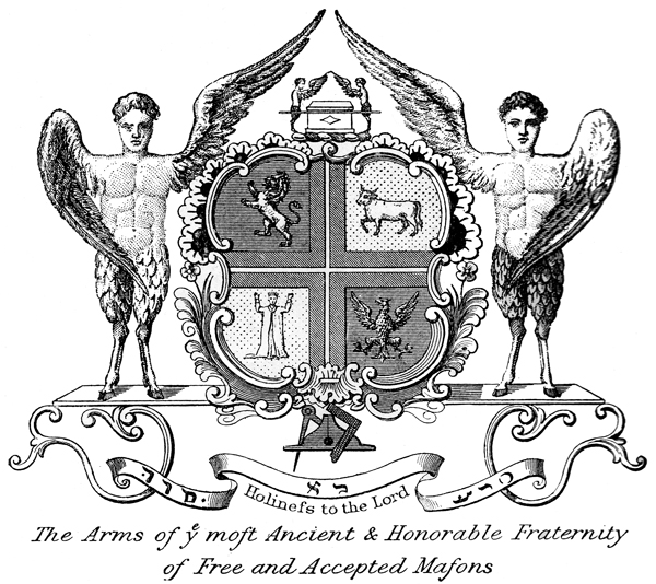 Arms of Grand Lodge of England - Ancients